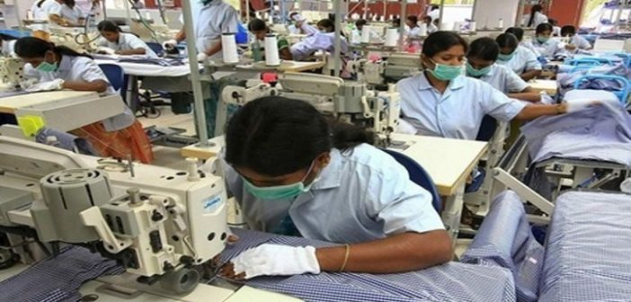 Garment workers stranded in factory housing due to lockdown in India