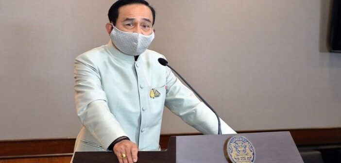 Thailand's Prime Minister Prayut issues lese majeste warning