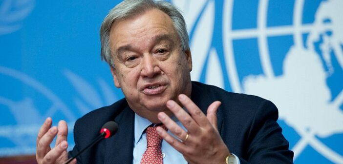 UN chief expresses deep concern for civilians as violence spikes in Sudan's West Darfur