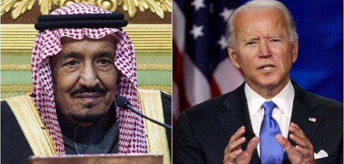 US President Biden calls Saudi King Salman; raises human rights