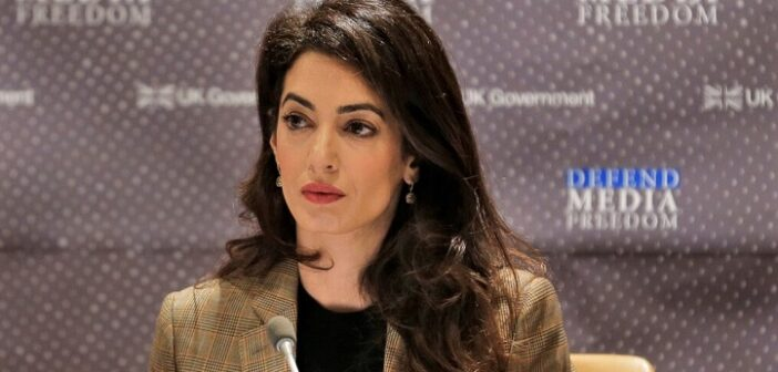 ICC prosecutor names rights lawyer Amal Clooney adviser for Sudan conflict